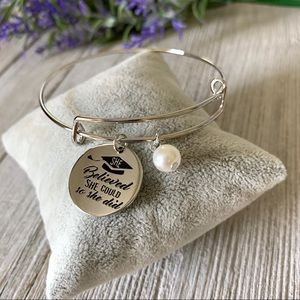 Jewelry - NWT She Believed She Could Graduation Bracelet